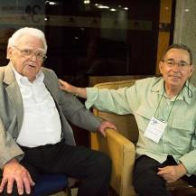 Fontes de Alencar e o irmão Leonardo de Alencar (2012)
