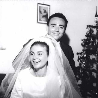 Casamento com Ilma, amor, felicidade e 57 anos de belíssima união.